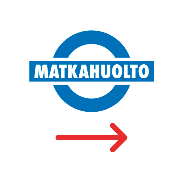 Visa delivery by Matkahuolto one-way within Finland